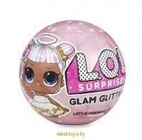 "Кукла ""L.O.L. Сюрприз в шаре"" Surprise Glam Glitter Series 555605E7C - Minsktoys.by"