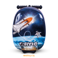 Самокат-чемодан Космонавт, ZINC ZC05822, серия Flyte - Minsktoys.by