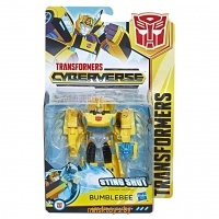 Трансформер - Бамблби, TRANSFORMERS Кибервселенная, HASBRO E1884/E1900 - Minsktoys.by